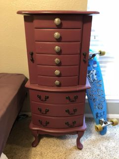 Tall Jewelry Chest