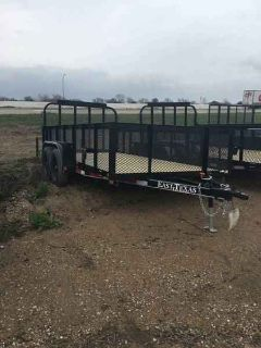 2018 East Texas Trailers 6.5'x14'x2' T/A Landscape Utility