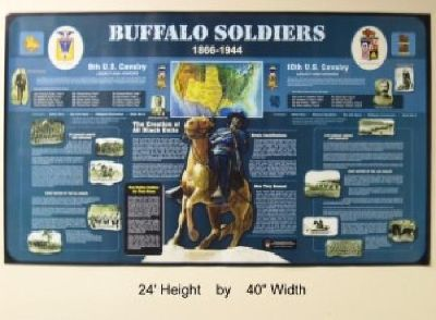 $15 Buffalo Soldier Poster Special Edition