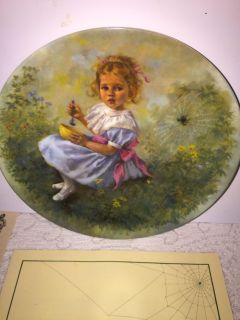 LITTLE MISS MUFFET COLLECTIBLE PLATE