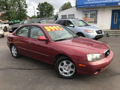 2002 Hyundai Elantra GLS (Chianti Red)