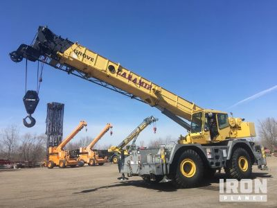 1995 Grove RT855B Rough Terrain Crane