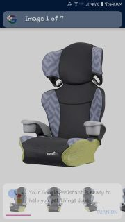 Iso highback booster seat