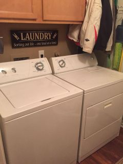 GUC - washer and dryer