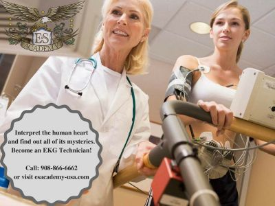 Become an EKG Technician within 4 weeks of training.