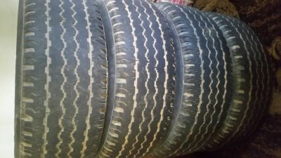 4 truck tires 265/70R16
