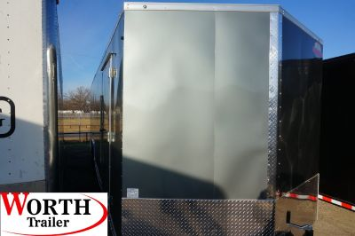 8.5' X 28' ENCLOSED TRAILER