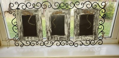 Let it Snow Picture Frame
