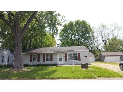 3 Bed 1 Bath Foreclosure Property in Franklin, IN 46131 - Churchill Rd