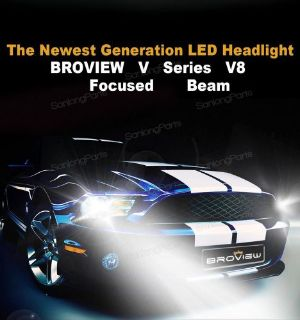 Sell BroView V8 P13W 12277 12000LM Fog Driving Light LED Lights Replace HID & Halogen motorcycle in Milpitas, California, United States, for US $69.99