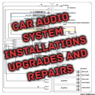 Mobile car stereo installation and repair