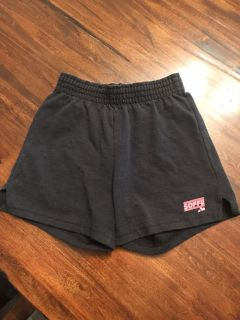 Soffe girls shorts. Xs 5-6. Faded.