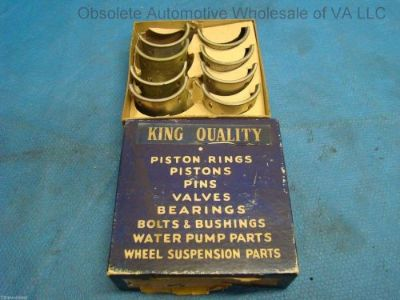 Sell Ford 221 Flathead V8 Connecting Rod Bearing Set 4 STD 85 HP 48-6211A 1932 - 1938 motorcycle in Roanoke, Virginia, United States, for US $75.00