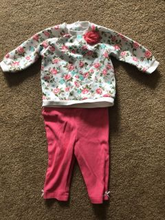 Adorable Little Me size 6 month outfit