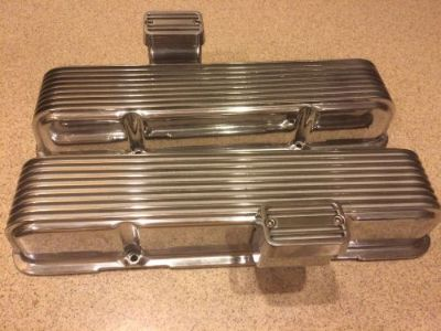 Find Cal Custom Valve Covers 1959, 1960, 1961, 1962, 1963, Chevy Small Block 32 Ford motorcycle in Wittmann, Arizona, United States