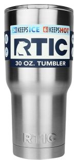 RTIC 30 oz Travel Coffee Mug Spill Proof Hot Cold Cup Vacuum Insulation Tumbler