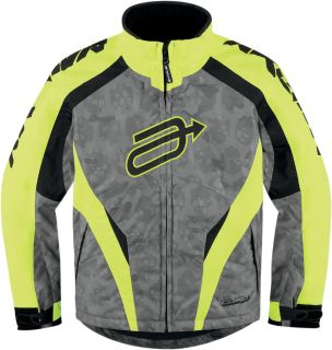 Purchase Arctiva Comp 7 Hi-Viz Youth Kids Insulated Snowmobile Jacket Snow Mobile motorcycle in Ashton, Illinois, US, for US $135.00