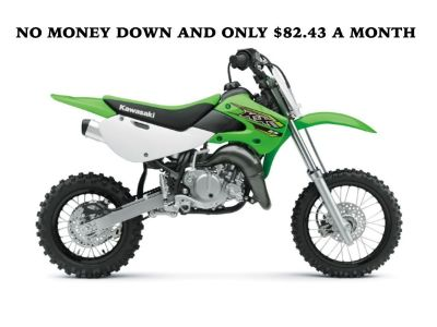 NEW 2018 KAWASAKI KX 65 ($82.43 A MONTH)