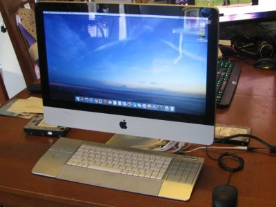 Apple iMac 21.5 in 3.2ghz cpu, 12gb ram, 1tb HD.....