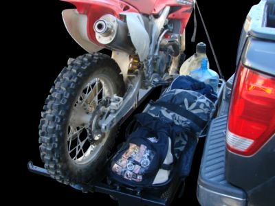 Motorcycle/Bike Hitch Carrier NEW with 2 Cargo Baskets!!