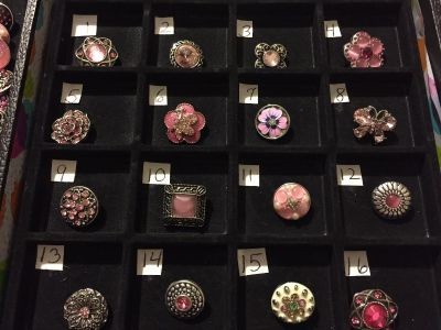 NEW !! 18-20mm Snaps for Interchangeable Jewelry, Fits Gingersnaps Brand