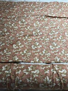 7 yards cotton fabric $20. For all meet in Gallatin