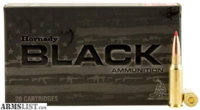 For Sale: Hornady 81528 Black 6.5mm Grendel 123 GR ELD-Match 20 Bx/ 10 Cs -$14.95 flat rate shipping-unlimited ammo and accessories