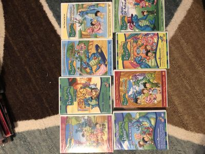 8 Dragon Tails DVDS