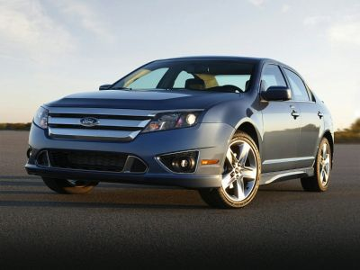 2011 Ford Fusion SE (Sterling Gray Metallic)