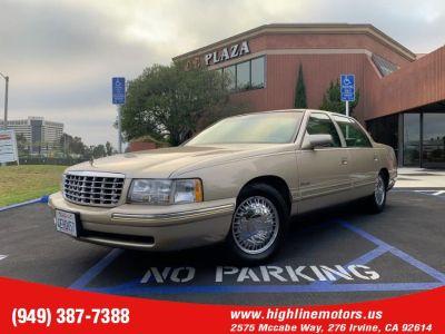1997 Cadillac DeVille D'elegance (Gold)