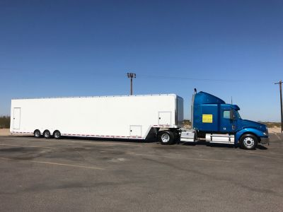 Enclosed 3-Car Hauler Custom Enclosed Non-Stacking Auto Tran