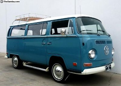 NICE/NICE/NICE 1970 Bay Window Deluxe SUNROOF