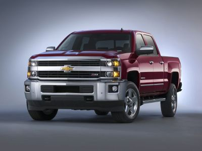 2019 Chevrolet Silverado 3500HD LTZ (Summit White)