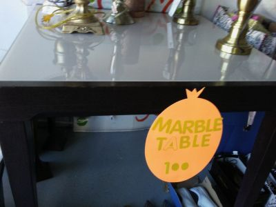 Marble Table Fast sale today Call now 770 572-4221