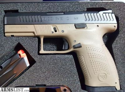 For Sale: CZ P-10c FDE