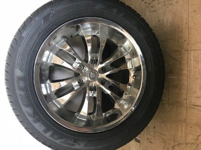 Cadillac- Set of 4 Rims w/tires
