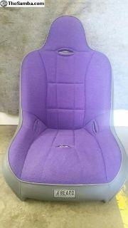 Beard suspension seat Purple pair New