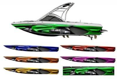 "Find The ""JET SX9"" Boat Wrap - Customized for your boat * Turbine Rocket Engine motorcycle in Naples, Florida, United States, for US $595.00"