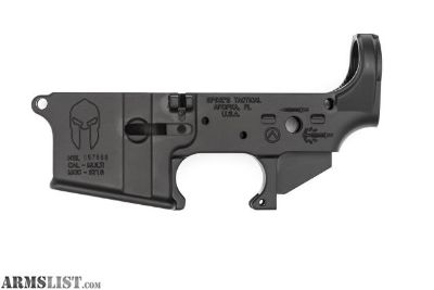 For Sale: Spikes Tactical Spartan Stripped Lower Receiver