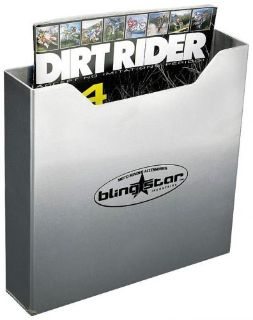 Sell Blingstar Magazine Rack Mounted Trailer Garage MAG RACK - STANDARD ALUMINUM motorcycle in Corona, California, United States, for US $20.00