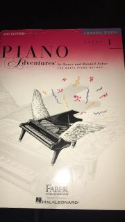 Piano Adventures Level 1 Lesson Book for Piano by Faber