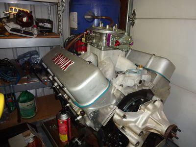 BBC 496 Brodix Aluminum head Engine