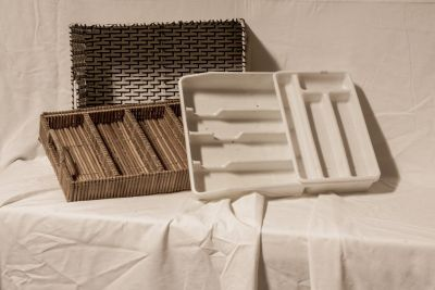 Drawer dividers and basket