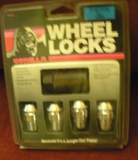 "Buy NEW Gorrilla Wheel Locks #73671N 7/16"" Acorn motorcycle in Lady Lake, Florida, United States, for US $19.99"