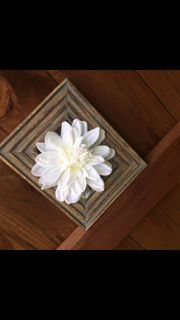 Handcrafted floral decor