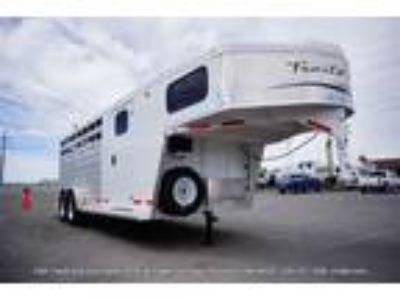 2019 Trails West Santa Fe 21' Gooseneck Stock