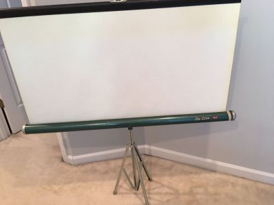 Vintage Projector Screen