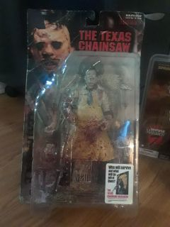 """Movie Maniacs Texas Chainsaw Massacre """"Leatherface"""". Never Opened in good condition. Only $80"""