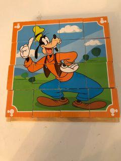 Melissa and Doug Disney wooden puzzle block