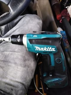 Makita brushless drywall screwgun